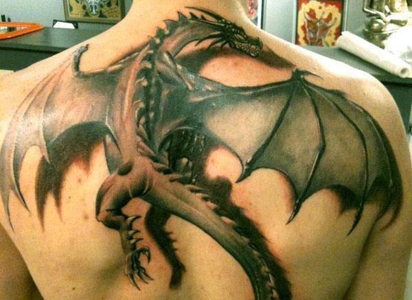 татуировка дракон значение