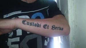 Татуировки на латыни